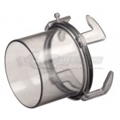 Prest-O-Fit Blueline Clear Sewer Hose Adapter