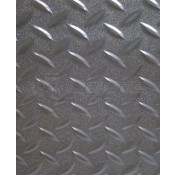 RV Black Diamond Plate Style Textured Flooring