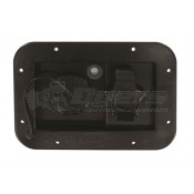 Valterra Black Rectangular Gravity/City Water Hatch