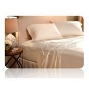 Denver Mattress Ivory Queen Size Bed Sheet