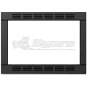Contoure Black Microwave Trim Kit for RV-185B-CON
