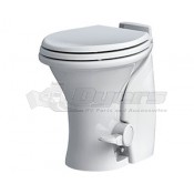 Dometic MasterFlush Macerator 7640 White RV Toilet