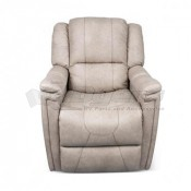 Thomas Payne Furniture Grantland Doeskin Swivel Glider Recliner