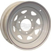 Trailer Wheel; 15 Inch Diameter x 6 Inch Width; 6 x 5.5 Inch Bolt Pattern