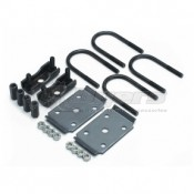 """Dexter Leaf Spring Over Axle Conversion Kit For 3"""" Round Axle"""