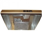 """Heng's Ductless 20"""" Stove Vent Hood- Black"""