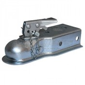 "Trailer Coupler 2"" Ball 3"" Wide Channel"