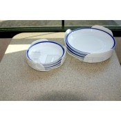 Camco White Stack-A-Plates