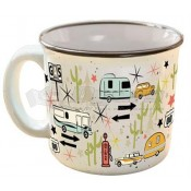 Camp Casual The MUG Wanderlust White Ceramic