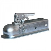 "Trailer Coupler 2"" Ball 2"" Wide Channel"