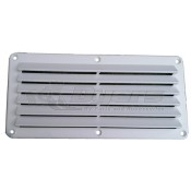 "Leisure Time 5"" x 10"" White Dent Vent"