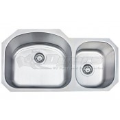 """Pure Liberty 27"""" X 16"""" Double Drawn Stainless Steel Sink *** NEW ITEM ***"""