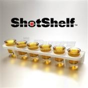 Shot Shelf Storage Cabinet Door Shelf
