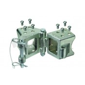 Fulton Fold-Away Trailer Hitch Coupler