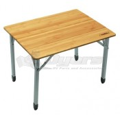 Camco Compact Bamboo Folding Table