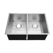 "Pure Liberty 27"" X 16"" Double Bowl Stainless Steel Sink *** NEW ITEM ***"