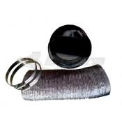 Pinnacle Appliance Washer/Dryer Black Vent Installation Kit