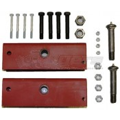 Tandem Axle Trailer Slipper Spring Equalizer Kit