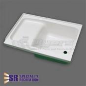 "Specialty Recreation 24"" x 38"" RH White Step Tub"