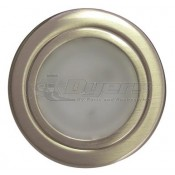 Interior 12 Volt Brushed Nickel LED Light