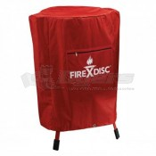 """Fire Disc 36"""" Propane Barbeque Grill Cover"""