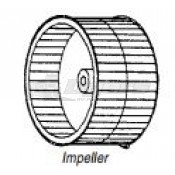 Coleman A/C Impeller Blower Wheel 1472-1041