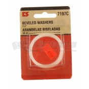 "Moen Inc. 1-1/2"" Beveled Washers **ONLY 2 AVAILABLE**"