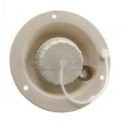 JR Colonial White Gravity Water Dish 321-A-13-A