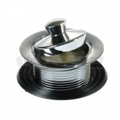JR Products Sink Strainer With Pop-Stop Stopper
