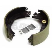 "Dexter 12-1/4 x 4"" Electric Brake Shoe & Lining Kit LH 10K HD"
