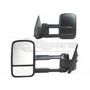 K-Source 14-15 Silverado/Sierra 1500 Black Extendable Towing Mirror