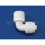 """Flair-It 3/8"""" Flare x 1/2"""" MPT Elbow Adapter"""
