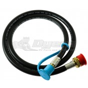 "MB Sturgis 48"" Quick Connect To 1lb Throwaway Bottle Hose"