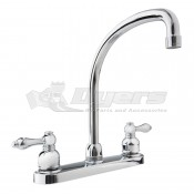 DURA Hi-Arc Chrome RV Kitchen Faucet