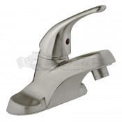 DURA Single Lever Heavy Duty Brushed Satin Nickel RV Lavatory Faucet