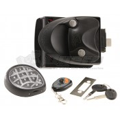 Mobile Outfitters Black Keyless Entry RV Lock System