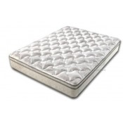 "Denver Mattress Rest Easy Euro Top 76"" x 80"" King Mattress"