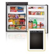 Norcold 2.7 Cu Ft. RH 3-Way Black Contemporary Refrigerator