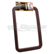 O.P. Brown Exterior Window Frame 77009
