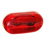 Pathfinder #482 Red Side Marker Light **ONLY 8 AVAILABLE**