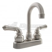 DURA Classical Brushed Satin Nickel RV Bar or Lavatory Faucet