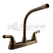 DURA Classical Hi-Rise Oil Rubbed Bronze RV Kitchen Faucet