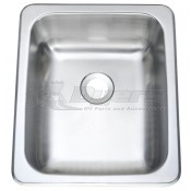 """Pure Liberty 17"""" X 13"""" Stainless Steel Sink *** NEW ITEM ***"""