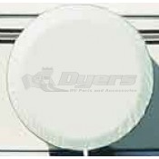 "ADCO 34"" Polar White Spare Tire Cover"