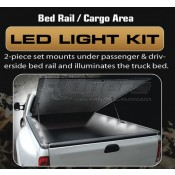 Recon Universal Cargo Area Bed Rail Light Kit