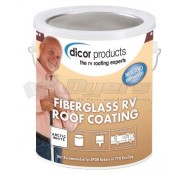 Dicor Fiberglass RV Roof Coating