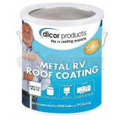 Dicor Elastomeric Metal RV Roof Coating