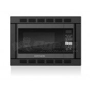 Contoure Black Counter Top/Built-In Convection Microwave with Trim Kit