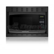 Contoure Black Built-In Microwave with Trim Kit