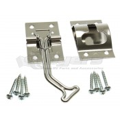RV Designer 45° Stainless Steel Door Holder